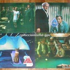 Cine: LOTE 4 FOTOCROMOS 1978 EL GATO QUE VINO DEL ESPACIO WALT DISNEY KEN BERRY SPAIN LOBBY CARDS X 4 RARO. Lote 95078999