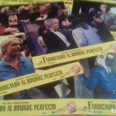 Cine: FOTOCROMOS ORIGINALES- FABRICANDO AL HOMBRE PERFECTO - JUEGO COMPLETO. Lote 95114075