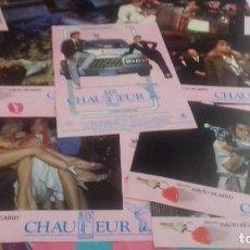 Cine: FOTOCROMOS ORIGINALES- MY CHAUFEUR 1986 - JUEGO COMPLETO. Lote 95114387