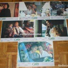 Cine: LOTE 6 FOTOCROMOS 1987 GABY UNA HISTORIA REAL LIV ULLMANN ROBERT LOGGIA SPAIN LOBBY CARDS SET X 6. Lote 95120371