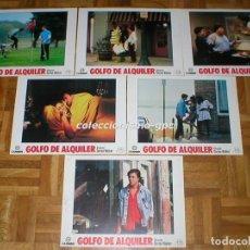 Cine: LOTE 11 FOTOCROMOS 1984 GOLFO DE ALQUILER MAKING THE GRADE JUDD NELSON JONNA LEE LOBBY CARDS SETX11. Lote 95138451