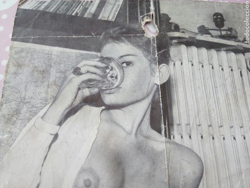 Antiguo Recorte Sophia Loren Desnuda Pin Up