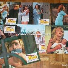 Cine: LOTE 7 FOTOCROMOS UNA VELA PARA EL DIABLO 1973 JUDY GEESON ESPERANZA ROY AURORA BAUTISTA TERROR RARA. Lote 95190735