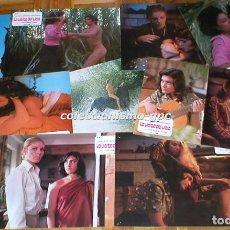 Cine: LOTE 9 FOTOCROMOS LA VISITA DEL VICIO 1978 PATRICIA GRANADA LIDIA ZUAZO RAFAEL MACHADO EROTICA RARA . Lote 95193031