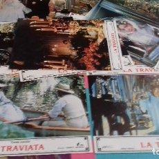Cine: FOTOCROMOS ORIGINALES - LA TRAVIATA 1983 - FRANCO ZEFFIRELLI - JUEGO COMPLETO. Lote 95340075