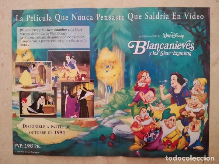 Publicidad original a4 blancanieves y los sie comprar for Enmarcar fotos online