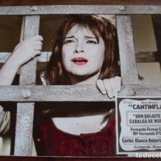 Cine: DON QUIJOTE CABALGA DE NUEVO - CANTINFLAS, FERNANDO FERNAN GOMEZ,Mª FERNANDA D'OCON - FOTO EN CARTON. Lote 95508631