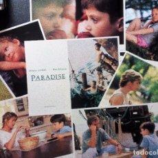 Cine: PARADISE (UN LUGAR LLAMADO PARAÍSO) MELANIE GRIFFITH, DON JOHNSON, ELIJAH WOOD SET 8 FOTOCROMOS USA. Lote 97369835
