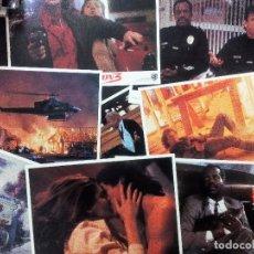 Cine: LETHAL WEAPON 3 (ALMA LETAL 3) SET 8 FOTOCROMOS USA NUEVOS 1992 ORIGINALES. 28X35,5 CMS. Lote 97370115