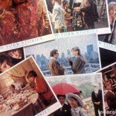 Cine: NEW YORK STORIES 1989 SET DE 9 FOTOCROMOS USA NUEVOS WOODY ALLEN - SCORSESE - COPPOLA. Lote 97374543