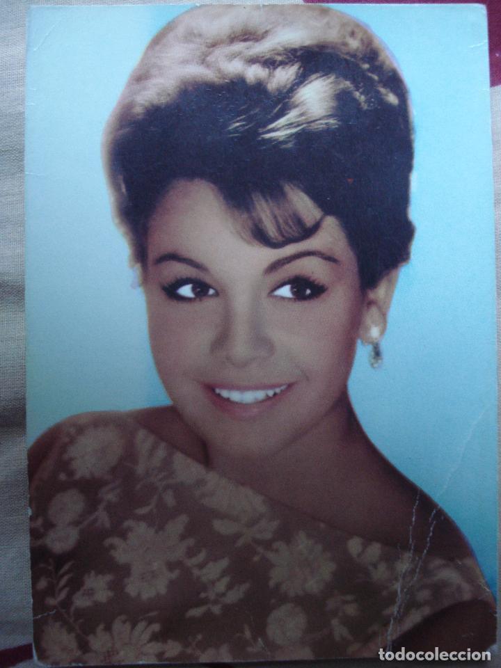 POSTAL DE ANNETTE 1964 (Cine - Fotos y Postales de Actores y Actrices)