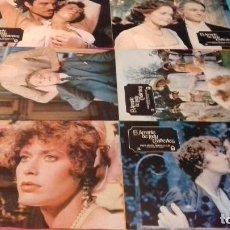 Cine: 12 FOTOCROMOS ORIGINALES- EL AMANTE DE LADY CHATERLEY 1981 - SYLVIA KRISTEL - JUEGO COMPLETO. Lote 97472435