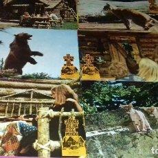 Cine: 12 FOTOCROMOS ORIGINALES- LA CABAÑA DEL FIN DEL MUNDO 1975 - JUEGO COMPLETO. Lote 97478435