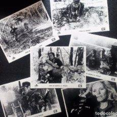 Cine: ZONA DE GUERRA: EL PARQUE (TOMMY LEE JONES) LOTE DE 6 FOTOGRAMAS 18X24 ORIGINALES DE LA PELÍCULA . Lote 97495619