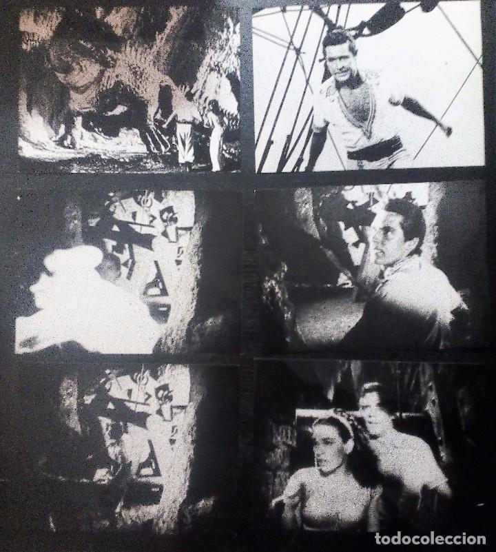 Cine: Simbad y la princesa (1958) LOTE DE 30 FOTOGRAFÍAS 18X24 DE LA PELÍCULA - Foto 6 - 97496339