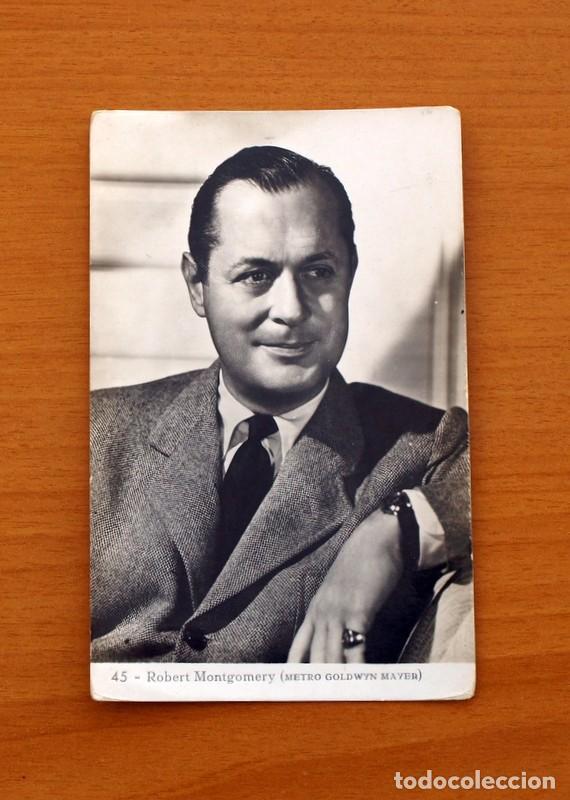 FOTO POSTAL - ROBERT MONTGOMERY - SI CIRCULAR - TAMAÑO 14X9 (Cine - Fotos y Postales de Actores y Actrices)