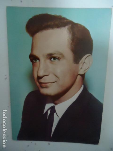 FOTO POSTAL -BEN GAZZABA- SERIE TV ARRESTO Y JUICIO - SIN CIRCULAR . AÑOS 60 (Cine - Fotos y Postales de Actores y Actrices)
