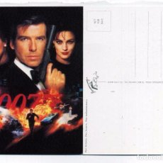 Cine: GOLDENEYE 007, CON PIERCE BROSNAN. POSTAL. Lote 122823958