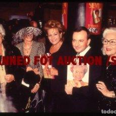 Cine: CARMEN SEVILLA, MERCEDES VECINO Y OTROS. DIAPOSITIVA ORIGINAL, 1997.. Lote 98335883