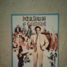 Cine: IMPRESO ORIGINAL -9*13- EL GUATEQUE - PETER SELLERS - ARCHIVO. Lote 101112103
