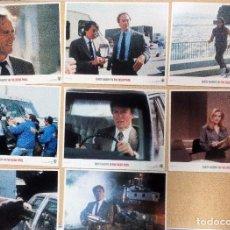 Cine: DIRTY HARRY IN THE DEAD POOL (LA LISTA NEGRA. HARRY EL SUCIO) 8 FOTOCROMOS ORIGINALES USA 28X35,5. Lote 98780763