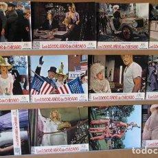 Cine: LOS LOCOS AÑOS DE CHICAGO. BEAU BRIDGES, MELINA MERCOURI. SET COMPLETO 12 FOTOCROMOS. Lote 98941603