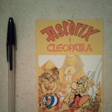 Cine: TARJETA ORIGINAL -10*15- ASTERIX Y CLEOPATRA - ANIMACION - DIBUJOS. Lote 101112108