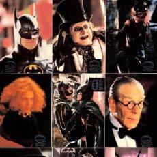 Cine: CROMO USA (TRADING CARD) BATMAN RETURNS. COMPLETA, 100 TARJETAS. NUEVAS! - CLC. Lote 101220803