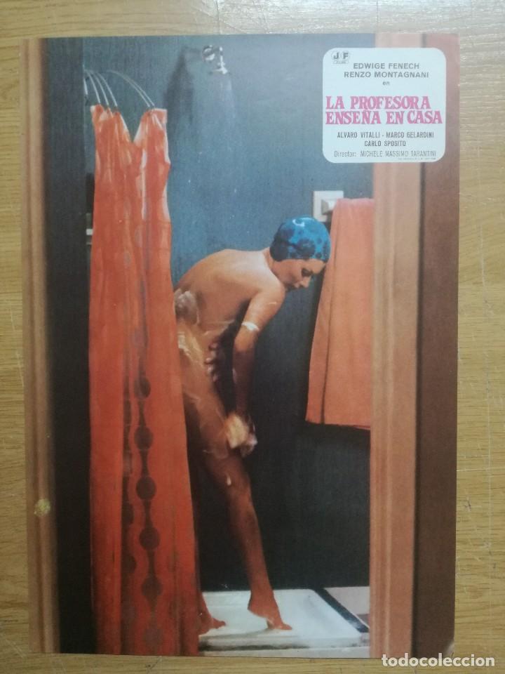 Cine: LA PROFESORA ENSEÑA EN CASA EDWIGE FENECH.9 FOTOCROMOS.PELICULA S - Foto 4 - 194127523