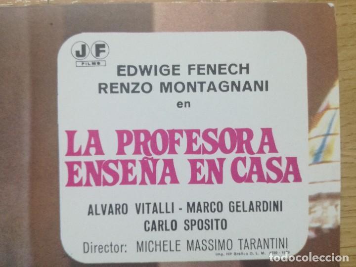 Cine: LA PROFESORA ENSEÑA EN CASA EDWIGE FENECH.9 FOTOCROMOS.PELICULA S - Foto 11 - 194127523
