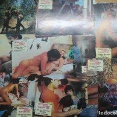 Cine: ABERRACIONES SEXUALES DE UN DIPUTADO - JUEGO 12 FOTOCROMOS ORIGINAL ESTRENO. Lote 102334735