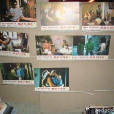 Cine: UNA PEQUEÑA MOVIDA ANA OBREGON TONY ISBERT JUEGO DE 8 FOTOCROMOS ORIGINALES B(1068). Lote 103439151