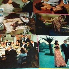 Cine: FOTOCROMOS ORIG- EN LA CRESTA DE LA OLA 1975 - JULIA GUTIÉRREZ CABA, JAVIER ESCRIVÁ - JUEGO COMPLETO. Lote 103461967
