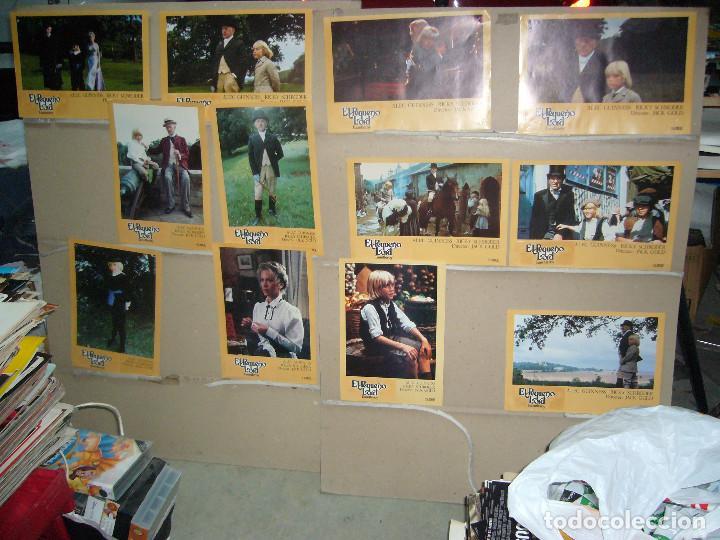 EL PEQUEÑO LORD RICKY SHCRODER ALEC GUINNESS JUEGO COMPLETO B(1074) (Cine - Fotos, Fotocromos y Postales de Películas)