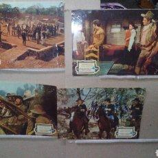 Cine: RIO LOBO JOHN WAYNE 4 FOTOCROMOS ORIGINALES B(1099). Lote 104038646