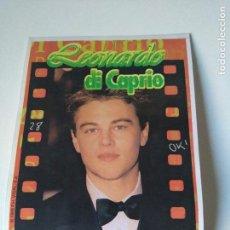 Cine: FOTO PEGATINA LEONARDO DI CAPRIO #28 - CHICLE BUBBLE GUM KAUGUMMI CHEWING GUM - 1998. Lote 104144263