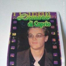 Cine: FOTO PEGATINA LEONARDO DI CAPRIO #16 - CHICLE BUBBLE GUM KAUGUMMI CHEWING GUM - 1998. Lote 104144495