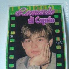 Cine: FOTO PEGATINA LEONARDO DI CAPRIO #38 - CHICLE BUBBLE GUM KAUGUMMI CHEWING GUM - 1998. Lote 104144539