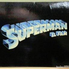 Cine: LCJ 1244 SUPERMAN EL FILM CHRISTOPHER REEVES TITLE LOBBY CARD ORIGINAL AMERICANO. Lote 104146423