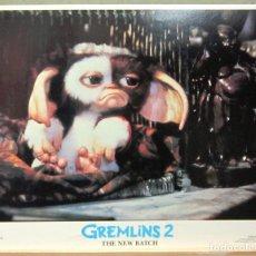 Cine: LCJ 1246 GREMLINS 2 STEVEN SPIELBERG LOBBY CARD ORIGINAL AMERICANO. Lote 104148623