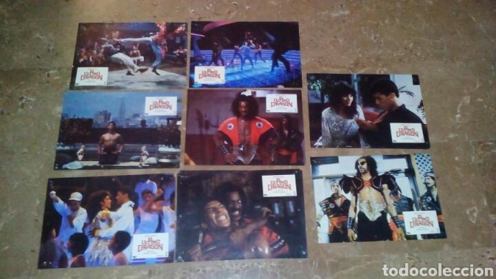 EL ULTIMO DRAGON VANITY TAIMAK 8 FOTOCROMOS ORIGINALES Q (Cine - Fotos, Fotocromos y Postales de Películas)