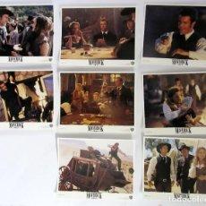 Cine: MAVERICK SET DE 8 FOTOCROMOS ORIGINALES USA (1994). COMO NUEVOS. Lote 107656943