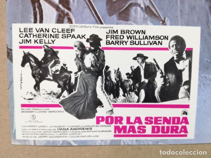 Cine: SET COMPLETO 12 FOTOCROMOS - POR LA SENDA MAS DURA, LEE VAN CLEEF, C. SPAAK, JIM KELLY, JIM BROWN - Foto 14 - 108735235