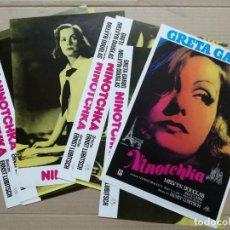 Cine: NINOTCHKA. JUEGO COMPLETO DE FOTOCROMOS.. Lote 108736623
