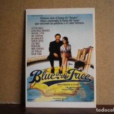 Cine: POSTAL DE LA PELÍCULA BLUE IN THE FACE. Lote 109121603