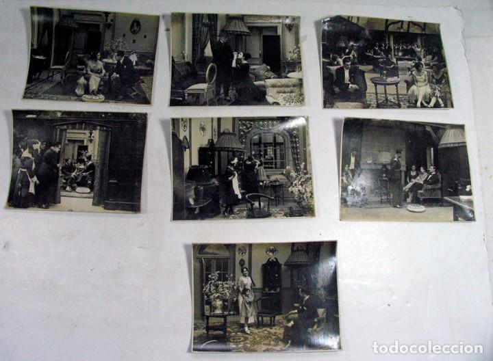Cine: 19 FOTOGRAFÍAS ORIGINALES PELICULA VICTIMA DEL ODIO. AÑOS 20. JOSE BUCHS. CINE ESPAÑA. PIONERO - Foto 2 - 109297027