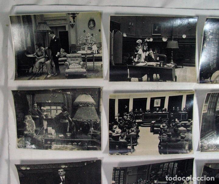 Cine: 19 FOTOGRAFÍAS ORIGINALES PELICULA VICTIMA DEL ODIO. AÑOS 20. JOSE BUCHS. CINE ESPAÑA. PIONERO - Foto 3 - 109297027