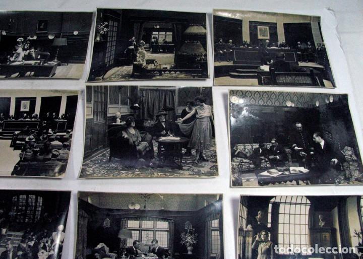 Cine: 19 FOTOGRAFÍAS ORIGINALES PELICULA VICTIMA DEL ODIO. AÑOS 20. JOSE BUCHS. CINE ESPAÑA. PIONERO - Foto 4 - 109297027