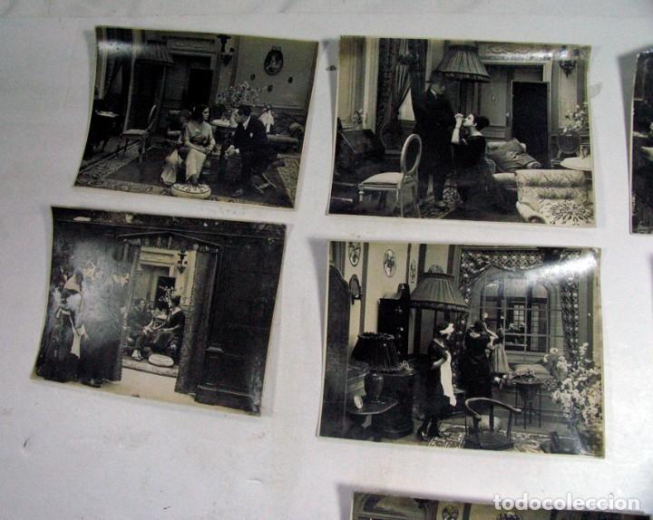 Cine: 19 FOTOGRAFÍAS ORIGINALES PELICULA VICTIMA DEL ODIO. AÑOS 20. JOSE BUCHS. CINE ESPAÑA. PIONERO - Foto 6 - 109297027
