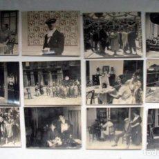 Cine: 25 FOTOGRAFÍAS ORIGINALES PELICULA LA VERBENA DE LA PALOMA. JOSÉ BUCHS 1921. CINE ESPAÑA. PIONERO. Lote 109297675